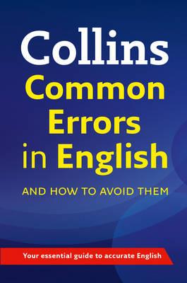 Collins Common Errors in English (Paperback)