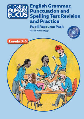 English Grammar, Punctuation and Spelling Test Revision and Practice: Pupil Resource - Collins Primary Focus (Spiral bound)