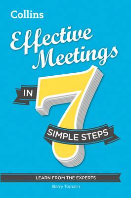 Effective Meetings in 7 simple steps (Paperback)