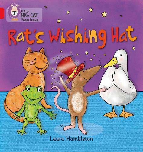 RAT'S WISHING HAT: Band 02b/Red B - Collins Big Cat Phonics (Paperback)