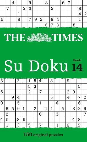The Times Su Doku Book 14: 150 Challenging Puzzles from the Times - The Times Su Doku (Paperback)
