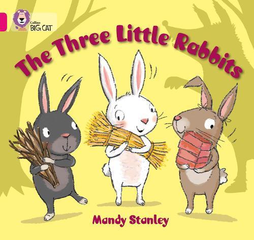 The Three Little Rabbits: Band 01b/Pink B - Collins Big Cat (Paperback)