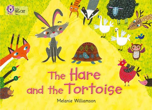 The Hare and the Tortoise: Band 03/Yellow - Collins Big Cat (Paperback)