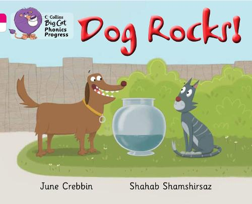 Dog Rocks!: Band 01b Pink B/Band 10 White - Collins Big Cat Phonics Progress (Paperback)