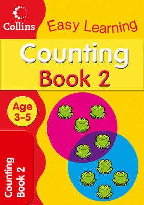 Counting Age 3-5: Book 2 - Collins Easy Learning Age 3-5 (Paperback)
