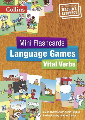 Vital Verbs - Teacher's Book - Mini Flashcards Language Games (Paperback)