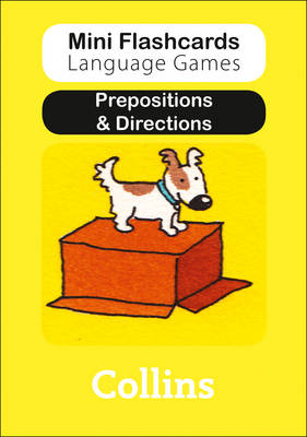 Prepositions & Directions - Mini Flashcards Language Games