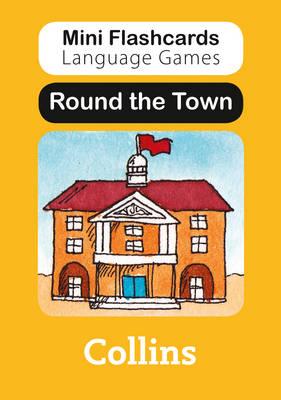 Round the Town - Mini Flashcards Language Games