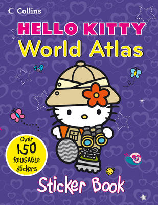 Hello Kitty World Atlas: Sticker Book (Paperback)