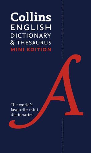 Collins Mini Dictionary & Thesaurus (Paperback)