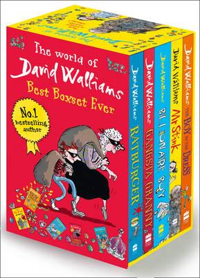 The World of David Walliams: Best Boxset Ever: The Boy in the Dress; Mr Stink; Billionaire Boy; Gangsta Granny; Ratburger (Paperback)