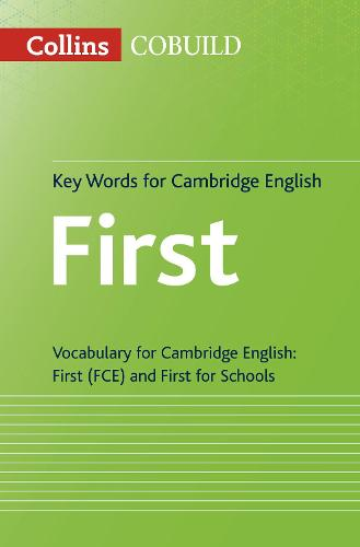 Key Words for Cambridge English First: Fce - Collins Cambridge English (Paperback)