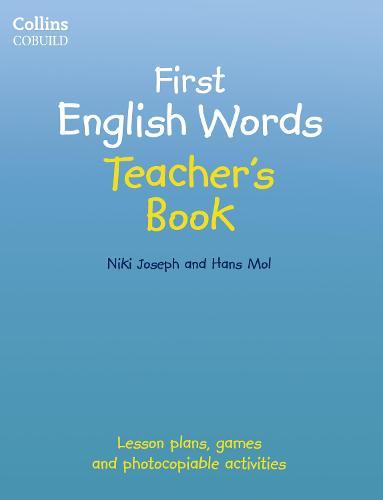 Teacher's Book: Age 3-7 - Collins First English Words (Paperback)