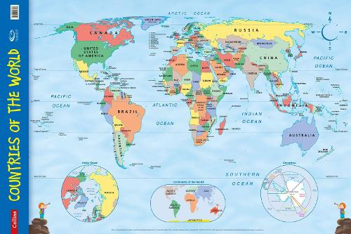 Countries of the World by Collins Maps Waterstones