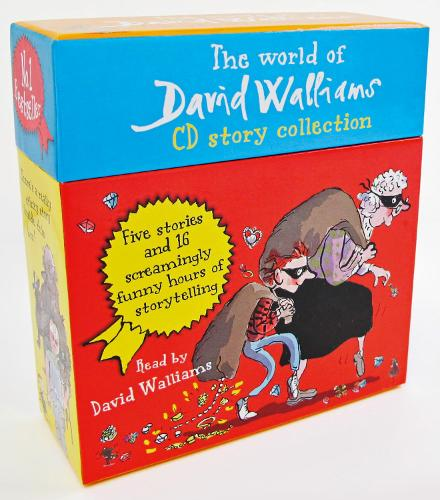 The World of David Walliams CD Story Collection: The Boy in the Dress/Mr Stink/Billionaire Boy/Gangsta Granny/Ratburger (CD-Audio)