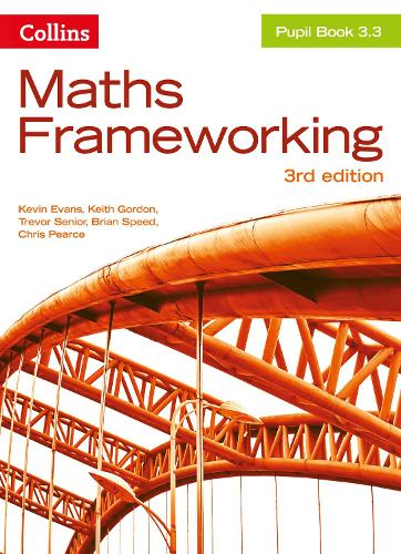 KS3 Maths Pupil Book 3.3 - Maths Frameworking (Paperback)
