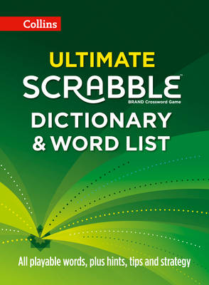 Collins Ultimate Scrabble Dictionary and Wordlist (Hardback)