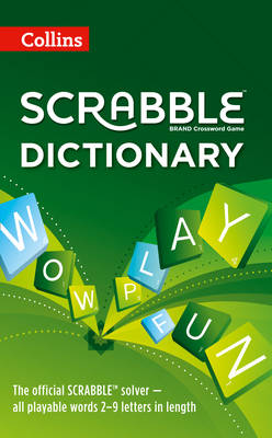 Collins Scrabble Dictionary (Hardback)