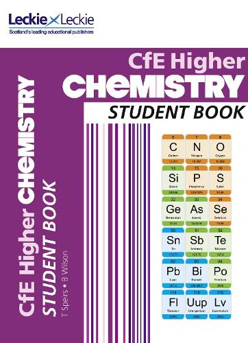 CfE Higher Chemistry Student Book - Student Book for SQA Exams (Paperback)