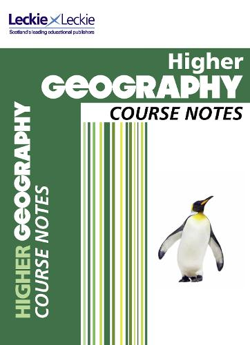 CfE Higher Geography Course Notes - Course Notes for SQA Exams (Paperback)