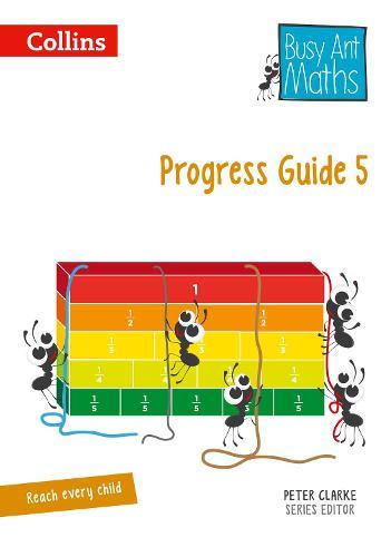 Progress Guide 5 - Busy Ant Maths (Spiral bound)