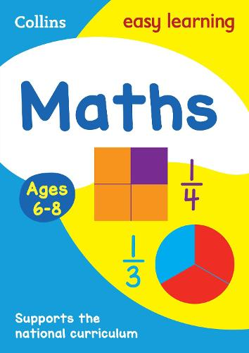 Maths Ages 6-8: Ideal for Home Learning - Collins Easy Learning KS1 (Paperback)