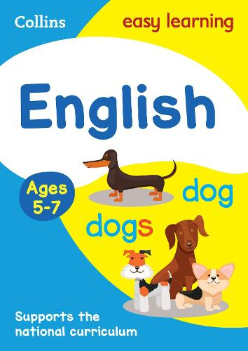 English Ages 5-7 - Collins Easy Learning KS1 (Paperback)