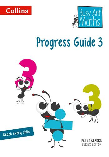 Progress Guide 3 - Busy Ant Maths (Spiral bound)