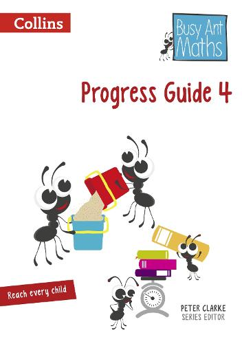 Progress Guide 4 - Busy Ant Maths (Spiral bound)