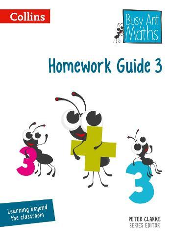 Homework Guide 3 - Busy Ant Maths (Spiral bound)