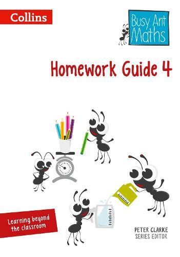 Homework Guide 4 - Busy Ant Maths (Spiral bound)