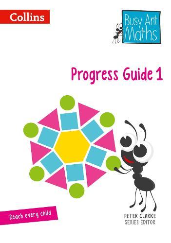 Progress Guide 1 - Busy Ant Maths (Spiral bound)