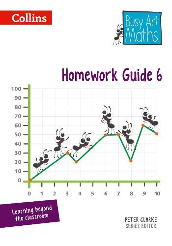 Homework Guide 6 - Busy Ant Maths (Spiral bound)