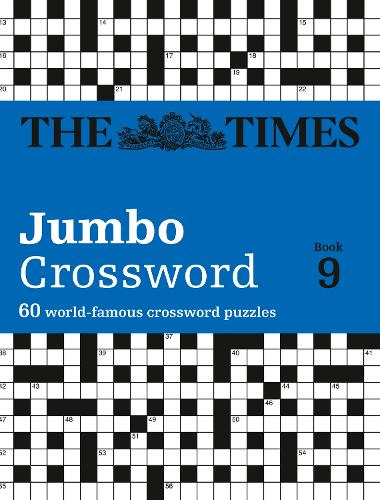 The Times 2 Jumbo Crossword Book 9: 60 World-Famous Crossword Puzzles from the Times2 (Paperback)