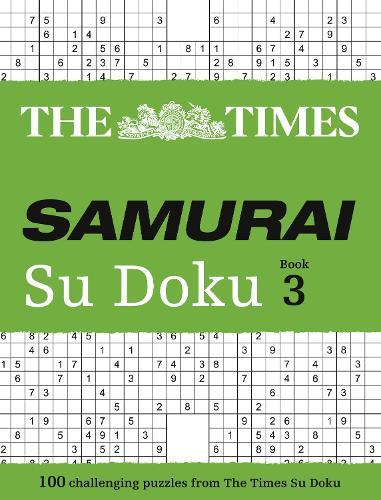The Times Samurai Su Doku 3: 100 Challenging Puzzles from the Times (Paperback)