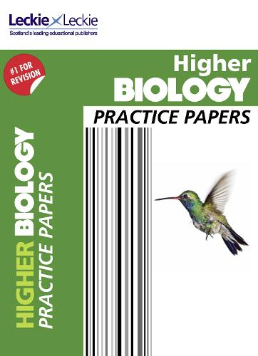 CfE Higher Biology Practice Papers for SQA Exams - Practice Papers for SQA Exams (Paperback)