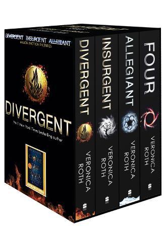 Divergent Series Box Set (books 1-4 plus World of Divergent)