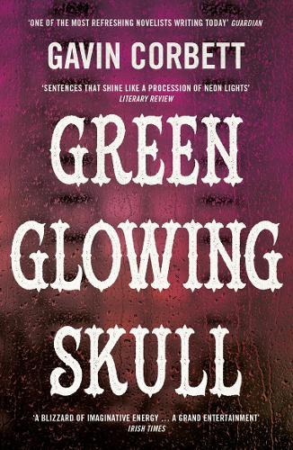 Green Glowing Skull (Paperback)