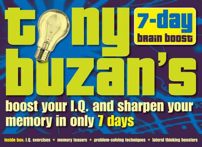Tony Buzan's 7-day Brain Boost Pack (Hardback)