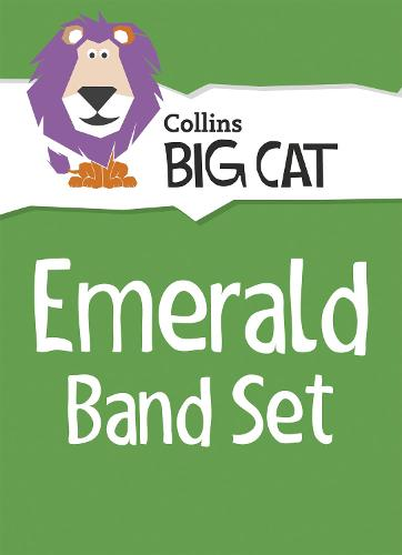 Emerald Band Set: Band 15/Emerald - Collins Big Cat Sets