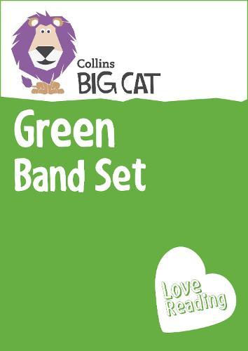 Green Band Set: Band 05/Green - Collins Big Cat Sets