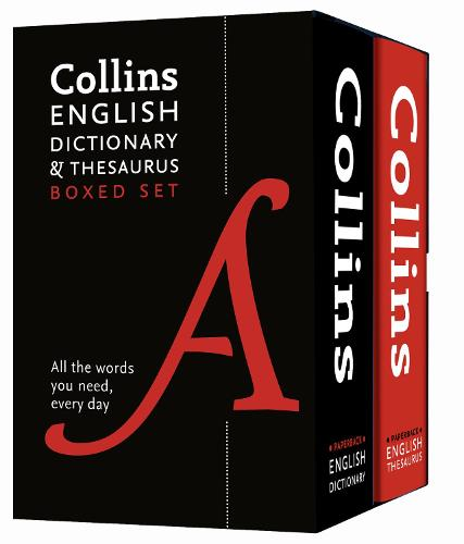 Collins English Dictionary and Thesaurus Boxed Set (Paperback)