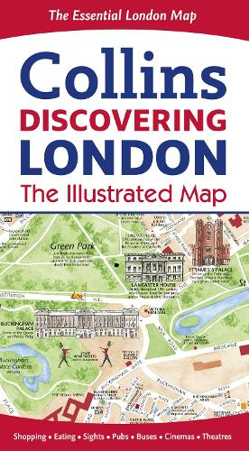 Discovering London Illustrated Map (Sheet map, folded)