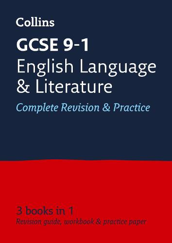 GCSE 9-1 English Language and English Literature All-in-One Revision and Practice - Collins GCSE 9-1 Revision (Paperback)