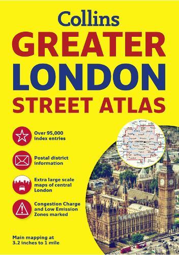 Greater London Street Atlas (Paperback)