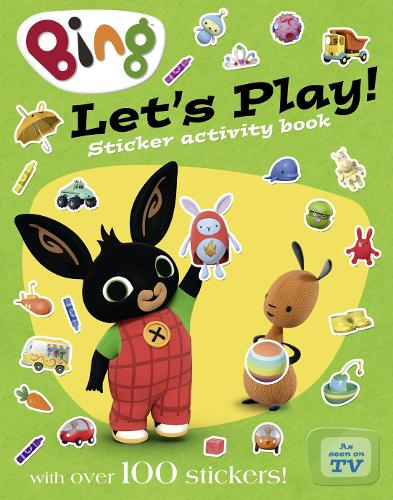 Let's Play sticker activity book - Bing