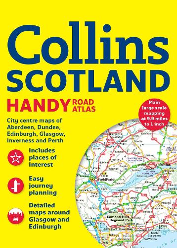 Collins Handy Road Atlas Scotland (Paperback)