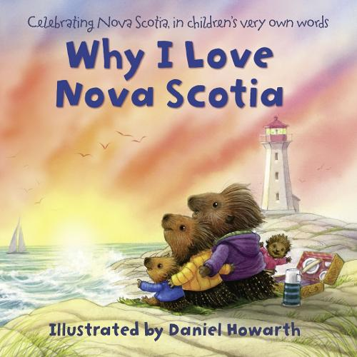 Why I Love Nova Scotia (Board book)