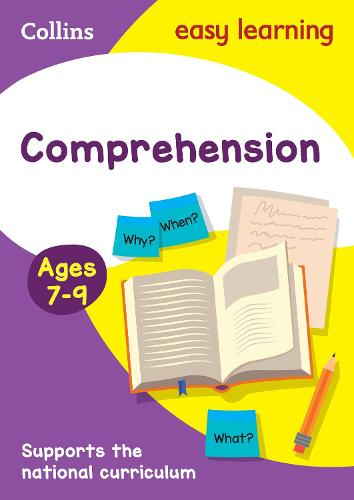 Comprehension Ages 7-9: New Edition - Collins Easy Learning KS2 (Paperback)