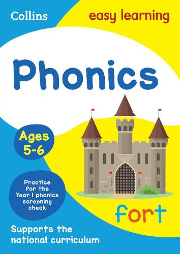 Phonics Ages 5-6: New Edition - Collins Easy Learning KS1 (Paperback)